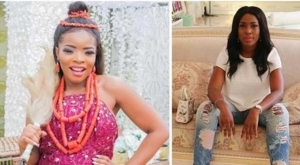 Linda Ikeji disappoints her sister 'Laura' on her wedding day